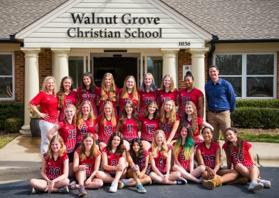 Middle and Varsity Volleyball Teams